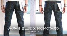 """Japan Blue x Momotaro - Japan Blue""  http://www.denimfuture.com/read-journal/japan-blue-x-momotaro---japan-blue"