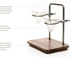 Pour Lab -- Dual Pour Over Coffee Set by Jacob Ruch — Kickstarter
