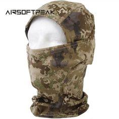 AIRSOFTPEAK Full Face Mask & Hat