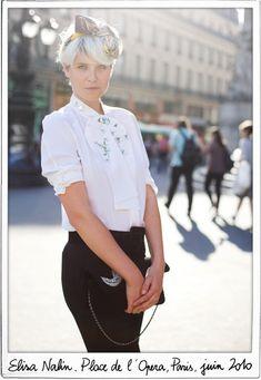 White on Blonde - Garance Doré