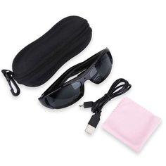1080P HD Mini Night Vision Eyewear DVR Video Recorder Sunglasses Camera Glasses   Wish Wifi Spy Camera, Security Camera, Mac Os 10, Blacked Videos, Windows Me, Store Hours, Wish Shopping