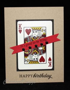 CAS - Masculine Birthday by cookiebaker - Cards and Paper Crafts at Splitcoaststampers