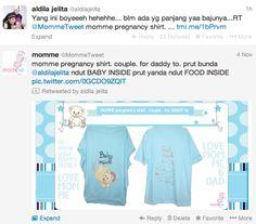 mommy adilla indra bekti.. momme pregnancy shirt.. boleeeh.. ;)