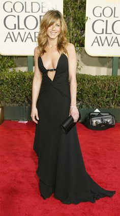 : Jennifer Aniston in vintage Valentino in 2004.