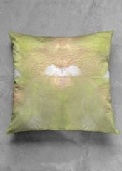 greenery: What a beautiful product! GREENERY ACCENT PILLOW - LUSTER SQUARE by Lolo