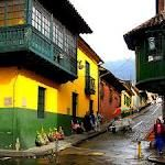 Region at the base of Monserrate mountain, Bogota, Colombia Places To See, Places Ive Been, World Of Color, Family Adventure, South America, Latin America, Travel Around, House Colors, Bogota Colombia