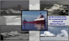 Edmund Fitzgerald, The Mitten State, National Weather Service, Lake Superior, Great Lakes, Winter Wonderland, North America, Michigan, Ss
