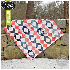 Sizzix Quilting Tutorial | BFF Chain Quilt by Amy Friend
