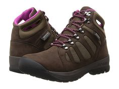 So cute Hiking Boots! Love the pull on handle! And oooo pink! $150 zappos.com http://m.zappos.com/bogs-tumalo-chocolate