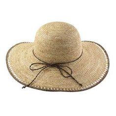 California Hat Company - Crocheted Raffia Sun Hat