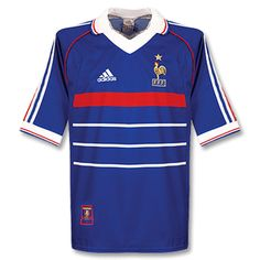 Adidas France 1998 Home Shirt France 1998 Home Shirt http://www.comparestoreprices.co.uk/football-shirts/adidas-france-1998-home-shirt.asp