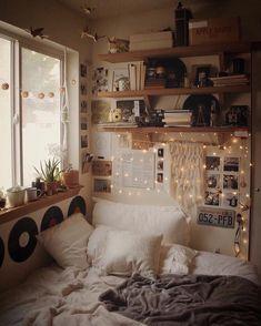 Bedroom Ideas For Small Rooms Cozy ; Bedroom Ideas For Small Rooms - Pink Bedroom Decor, Simple Bedroom Decor, Apartment Bedroom Decor, Cozy Apartment, Small Room Bedroom, Teen Bedroom, Cozy Bedroom, Master Bedroom, Bedroom Vintage
