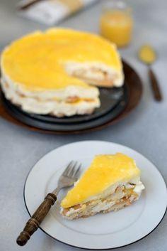 Sweet Recipes, Dutch Recipes, Cake Recipes, Italian Desserts, Köstliche Desserts, Mousse, Lemon Tiramisu, Limoncello, Lemon Curd