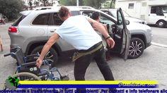 Sollevatore Gruetta ausilio per trasporto disabili anche su jeep Fuorist...