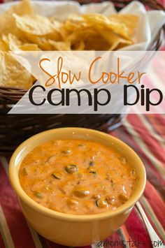Slow Cooker Camp Dip Recipe  http://www.amomstake.com/2014/01/slow-cooker-camp-dip-recipe/