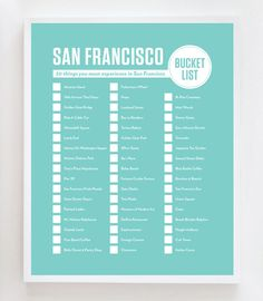San Francisco Bucket List: 50 things you must experience in San Francisco
