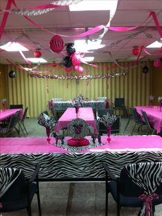 This Is How I Want My Baby Shower!!!!!! Zebra Baby