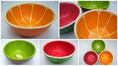 Paper bowl, tutorial not in En הבית של יעלי: הדרכה ליצירת קערה מעיסת נייר