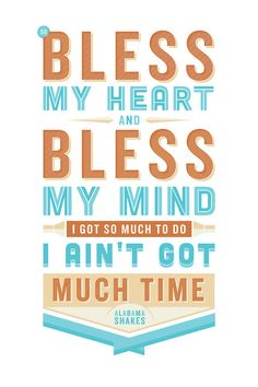 Love this song... and alsohave soft spot for Ross Shafer's skilled typography.