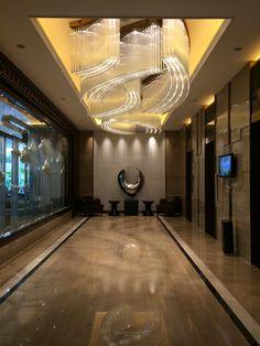 酒店电梯间灯具方案