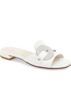 Stuart Weitzman 'Opinion' Slide Sandal (Women) available at Flats, Women's Shoes Sandals, Wedge Shoes, Shoe Boots, Huarache, Stuart Weitzman, Studded Heels, Summer Shoes, Summer Sandals