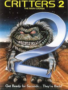 Critters 2 - The Main Course - Review: Critters 2 (1988) is an American science fiction comedy horror movie that is also… #Movies #Movie