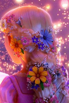 Walt Disney Princess Rapunzel hair from the movie Tangled Disney Rapunzel, Rapunzel Flynn, Rapunzel Braid, Tangled Flynn, Rapunzel Quotes, Tangled Quotes, Rapunzel Costume, Disney And Dreamworks, Disney Pixar