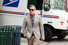 Nickelson Wooster, Men's Fashion Director at Bergdorf Goodman.