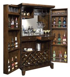 Home Gallery Furniture, Rogue Valley Wine & Home Bar Cabinet