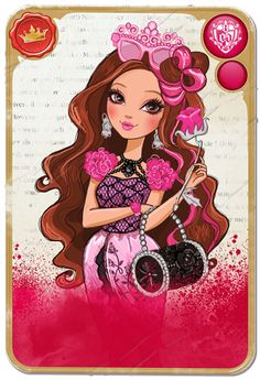 Mirror Blogs - Student Cards & Character Bios | Ever After High Royal Briar Beauty, daughter of Sleeping Beauty