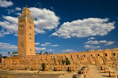 moskee: Marokko.
