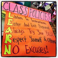 Cute class rules