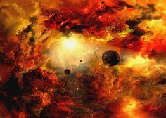 'Cosmic+9'+von+Natalia+Rudzina+bei+artflakes.com+als+Poster+oder+Kunstdruck+$16.63