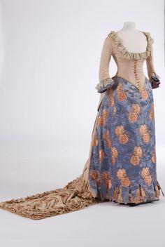 Evening dress ~ (1887)