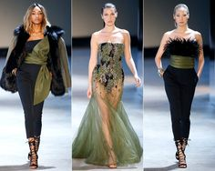 Your Cheat Sheet to Fall 2016 Couture Fashion Week - Alexandre Vauthier Builds a Couture Army from InStyle.com