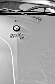1956 Bmw Isetta 300 Hood Emblem, BMW Photographs, BMW Images