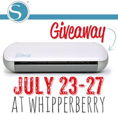 Whipperberry: Silhouette's New Line of Products AND a Portrait GIVEAWAY
