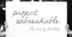"""Project Unbreakable has strived to """"increase awareness of the issues surrounding sexual assault"""" since its launch in 2011. 