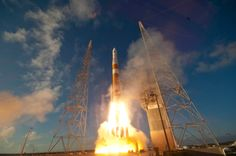 Delta IV takes off on October 4, 2012.