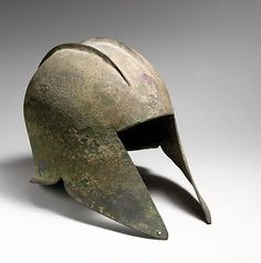 Bronze helmet of Illyrian type Period: Classical Date: early 5th century B.C. Culture: Greek