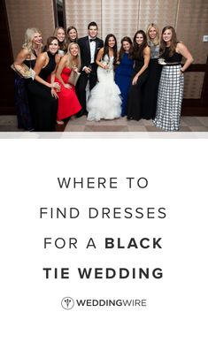 39979250c42 Where to Find Dresses for a Black Tie Wedding