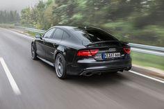 ABT Audi RS7 brengt je desgewenst met 320 km/h naar je vakantiebestemming