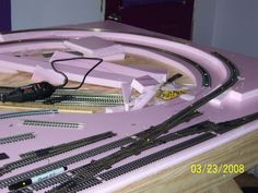 HO Train Layout Construction | This is an HO scale train layout we are building.