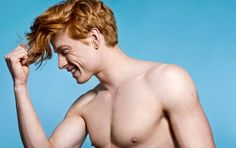 """""""They are never the heartthrob, the hero, or the action star, and it has created this notion that all ginger men are ugly and weak. Redhead Men, Redhead Models, Male Models, Hot Ginger Men, Ginger Hair, Ginger Guys, Ginger Models, Male Beauty, Mannequins"""