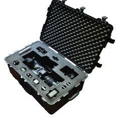 Foam Insert for Sony PXW-FS7 Fully Mounted to fit Peli 1650 from Best Flight Cases