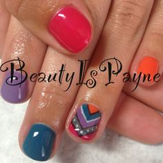 BeautyIsPayne gel nails. shellac. nail art check out www.MyNailPolishObsession.com for more nail art ideas.