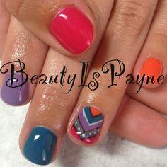 BeautyIsPayne gel nails. shellac. nail art check out www.MyNailPolishObsession.com for more nail art ideas.