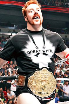 WWE Superstar - Sheamus, en tant que Champion du Monde Poids-Lourds