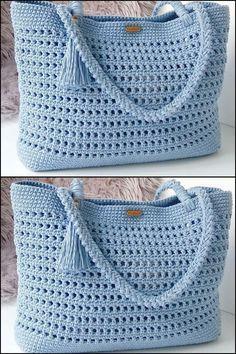 (Video) Tap the image to learn crochet pas . - (Vídeo) Toque na imagem para aprender crochê pas… – (Video) Tap the image to learn crochet pas … – - Crochet Purse Patterns, Bag Crochet, Crochet Handbags, Crochet Purses, Knitting Patterns Free, Crochet Clothes, Crochet Baby, Learn Crochet, Sewing Patterns