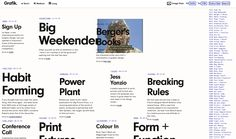 digital | web | layout | typography